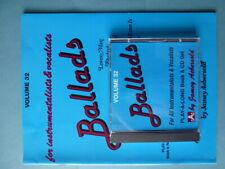Jamey Aebersold - Vol. 32  Ballads - Jazz Improvisation  Book / CD  - EX
