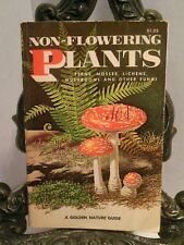 1967 Non-Flowering Plants Golden Guide Mushrooms Fungi Ferns Lichens Moss Algae