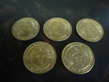 1998 Pinnacle Mint Baseball Coins---Stars Only---Lot Of 5---See List
