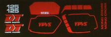 Yamaha DT125 DT125LC Pintura Decal Set 4