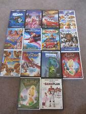 Disney DVDs - Lot of 14 - Nemo - Stitch - Tinker Bell - Dumbo  - Cars