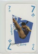 2012 LOCOG London Legends Playing Cards Pink Back Fu Mingxia #7C