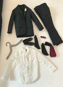 Vintage 1961 Mattel Barbie Ken Doll Tuxedo Outfit #787 * 3 DAY