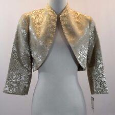 R & M Richards Embellished Jacket Size 8 #C366
