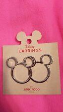Disney Mickey Mouse Earrings By Junk Food Target Exclusive