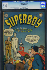 SUPERBOY #19 - CGC-6.0, OW-W