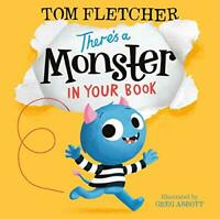 There's a Monster in Your Book (Who's in Your Book?) by Fletcher, Tom, NEW Book,