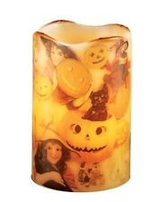 Victorian Trading Co Retro Spooks Sprites Flickering Halloween Flameless Candle