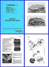 British Universal Bren Gun Carrier Service Instruction Book on CD