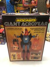 Vintage MEGO MICRONAUTS 1977 GIANT ACROYEAR WITH ORIGINAL BOX