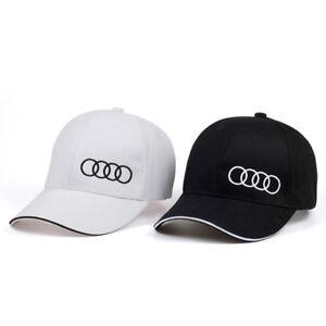 NEW Audi Side Logo Cap Baseball Stylish Hat Car Adults Golf Leisure Embroidery
