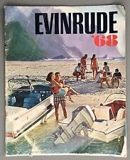 1968 Evinrude Boat Motor Skeeter Aquanaut 32pg Catalog