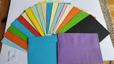Mixed coloured envelopes 6 x 4 qty 20