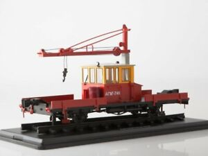 1:43 Automobile railroad truck assembly AGMu 0094MP