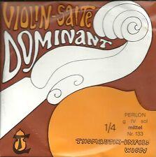 Corde à l'unité Violon DOMINANT VIOLIN SALTE - 133 1/4 - Sol