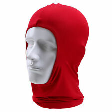 1x Red Motorcycle Scooter Dirt Bike Face Racing Neck Cover Protector Flexible