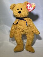 Retired TY Original Beanie Babies 1998 Fuzz the Bear - Mint Condition with Tags