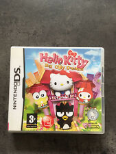 JEU NINTENDO DS  3DS : HELLO KITTY BIG CITY DREAMS   F24