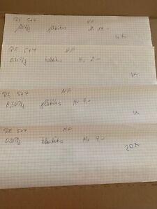 RARE LOT  Burgen und Schlösser ROLLENENDE 5+4  postfrisch 4 + 5 Rollenmarken
