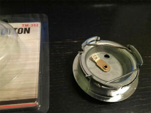 5.2cm Racing Car Modified Steering Wheel Horn Button Metal + Plastic Universal