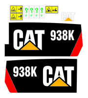 Adhesive sticker customize Loader   caterpillar 938k , 924k