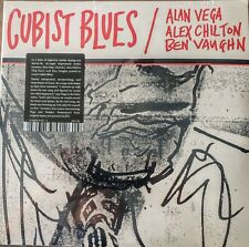 "CUBIST BLUES - ALAN VEGA, ALEX CHILTON, BEN VAUGHN  - 2 LP SET "" NEW, SEALED """