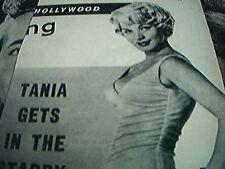 newspaper cutting 1956 tania velia whiplash