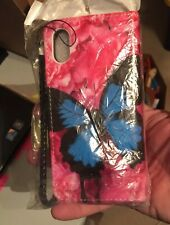 Wallet Case with Butterfly For I-Phone 10