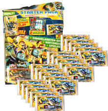 LEGO Nexo Knights 2 - Trading Cards - 1 Starter + 20 Booster - Deutsch