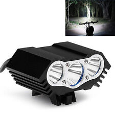 10000Lm 3 x CREE T6 LED Bicycle Lamp Light Headlight Cycling Headlamp Torch
