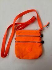 Kipling Small Alvar Crossbody internal pockets Neon Orange 643 Handbag Purse
