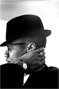 Malcolm X Poster v1 12x18