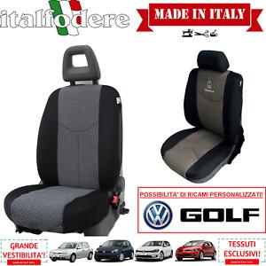COPPIA COPRISEDILI Specifici Volkswagen GOLF Foderine ANTERIORI GOLF Grigio 37