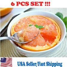 Set of 6 Grapefruit Spoons Stainless Steel Dessert Windsor Flatware Silverware