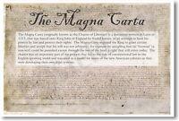 173909 The Magna Carta Common Core Social Studies Decor LAMINATED POSTER AU