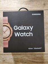 Samsung Galaxy Watch Smartwatch SM-R810 42mm Bluetooth Rose Gold Pristine