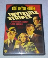 Invisible Stripes (DVD, 1939) BOGART  *RARE oop