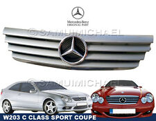 MERCEDES C CLASS FRONT GRILL - W203 SPORT COUPE A2038800383