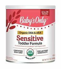 Baby's Only Organic LactoRelief with Dha & Ara Toddler Formula 12.7 Ounce Pac.