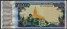 LAO LAOS 100000 Kip COMMEMORATIVE Issue #p40 UNC 2010 **************************