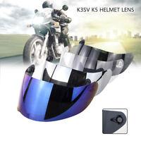 Smoke Motorrad Helm Visier GT2 und GT2-1 für AGV K-1 K-5S K-5 K-3SV Stealth bzw