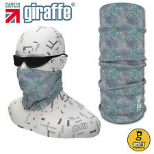 G434 Giraffe Multifunctional Headwear Neckwarmer Snood Scarf Bandana Headband