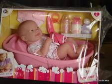 "Berenguer * La Newborn * Deluxe Bath Set 18570 * With 14"" Doll"