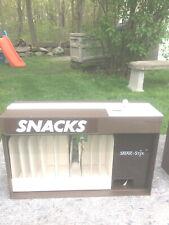 Pair of Snak-Stix Snack Vending Machine Vintage 1986 Countertop Candy Dispenser