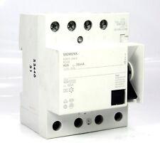 Siemens 5SM3 344-6KL FI Schutzschalter 40A, 30mA, RCCB