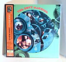 THE SOFT MACHINE 200-gram VINYL LP Sealed Japan Pressing with OBI Robert Wyatt