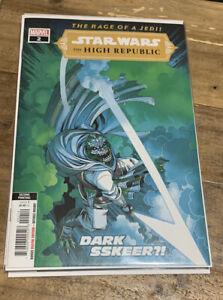 STAR WARS HIGH REPUBLIC #2 2nd Printing Marvel Comics 2021