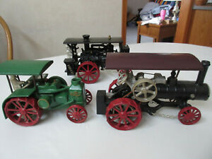Irvins Model Shop Steam Tractor, Oil Pull tractor & Huber toy tractor