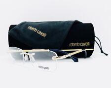 New Roberto Cavalli Eyeglasses Porrima 936 032 Gold 54•16•135 With Case