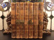 1800 1st ed Fourcroy Systems of CHEMISTRY Chemical Nomenclature Chimique 7v SET